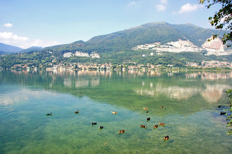 Lake of Pusiano